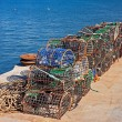 Fishing traps — Stock Photo