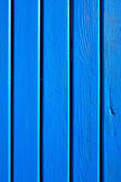 Wooden blue planks — Stock Photo