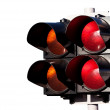 Traffic lights of racing on white — Stock Photo #6280355