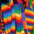 Colored wool — Foto de Stock