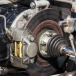 Engine and brakes — Stock Photo #6294818