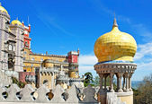 Balcony with yellow dome — Stock Photo