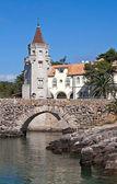 Castro Guimarães Palace — Stok fotoğraf