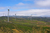 Several aeolian windmills - Meadas (hanks) sierra — Foto de Stock