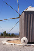 Windmill of Santiago da guarda — Stock Photo