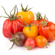 Variation of juicy Tomatoes - Stock Photo