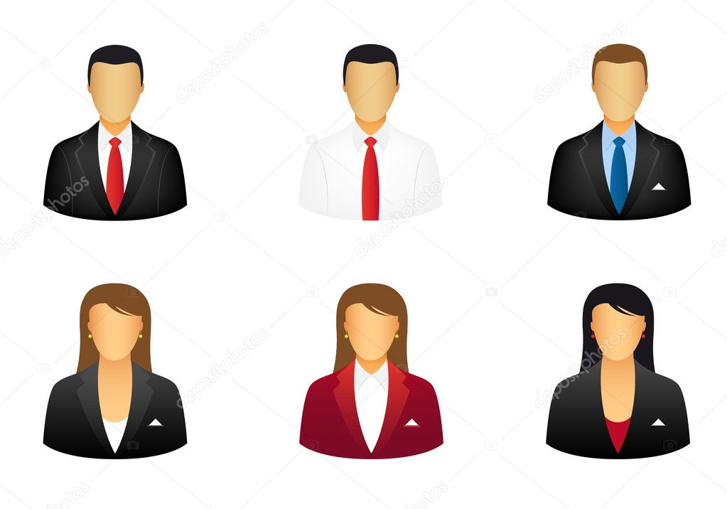 Set of business icons  Stock Vector #5990260