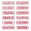 Royalty-Free Stock Vector Image: Rubber stamps