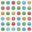 Miscellaneous icons — Stock Vector