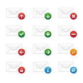 Email icons — Stock vektor