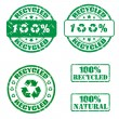 Royalty-Free Stock Vector Image: Recycled stamp