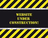 Website under construction — Stock Vector