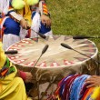 Indian Pow Wow Drum — Stock Photo