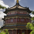 Longevity Hill Tower of the Fragrance of the Buddha Summer Palac — Stock Photo