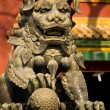 Dragon Bronze Statue Yonghe Gong Buddhist Temple Beijing China — Stock Photo #6039686