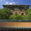 Gate Longevity Hill Summer Palace Beijing China — Stock Photo