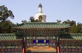云门佛塔北海公园北京中国 — 图库照片