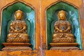 Buddha Statue Estate Palazzo Pechino Cina — Foto Stock