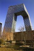 Cctv bouw guomao centrale zakelijke district beijing china — Stockfoto
