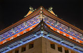 Ornate Corner Roof Southeast Watchtower Dongguan Men City Wall P — Stock Photo