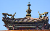 Gugong Forbidden City Palace Dragon Pavilion Beijing China — Stock Photo