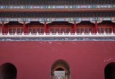 Gugong Gate Forbidden City Palace Beijing China — Stock Photo