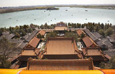 Kunming Lake from Longevity Hill Summer Palace Beijing China — Stock Photo