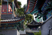 Chinese Style Buildings Cow Street Niu Jie Mosque Beijing China — Stock Photo