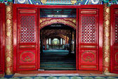 Interior Cow Street Niu Jie Mosque Beijing China — Stock fotografie