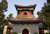 Chinese Minaret Tower Cow Street Niu Jie Mosque Beijing China — Stock Photo