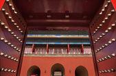 Red Gates Doors Gugong Forbidden City Palace Beijing China — Stock Photo