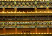 前门门详细信息天安门广场北京中国之夜 — 图库照片