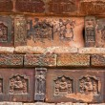 Ancient Bricks Details Iron Buddhist Pagoda Kaifeng China — Stock Photo
