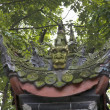 Stock Photo: Green Dragon Statue Garden Baoguang Si Shining Treasure Buddhist