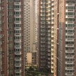 Very High Apartment Buildings Guiyang, Guizhou, China — Stock Photo #6047438