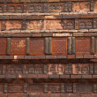 Ancient Bricks Details Iron Buddhist Pagoda Kaifeng China — Stock Photo
