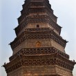 Ancient Iron Buddhist Pagoda Kaifeng China — Stock Photo