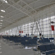 Jinan Regional Airport Shandong Province China - Stock Photo