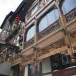 Old Chinese Buildings Hongya Complex Chongqing Sichuan China — Stock Photo