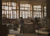 中国实木家具厂 — 图库照片