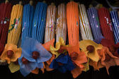 Colorful Paper Handcrafted Umbrellas China — Stock Photo