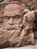 Karl Marx Stone Statue Chongqing Sichuan China — Stock Photo