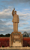 Statue of Mao Tse Tung, Lijiang, Yunnan Province, China — Stock Photo