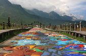 なし族の村、麗江、雲南省、中国 — ストック写真