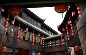 Ancient Jinli Street Chengdu Sichuan China — Stock Photo