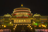 Renmin Square Chongqing Sichuan China at Night — Stock Photo
