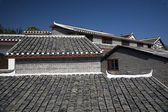 Roofs Ancient Town, Guiyang, Guizhou, China — 图库照片