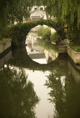 Shaoxing Bridge, Zhejiang, China — Stock Photo