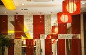 Sečuánská pikantní moderní restaurace chengdu čína — Stock fotografie