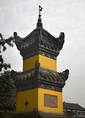 Baoguang Si Shining Treasure Buddhist Temple Chengdu Sichuan Chi — Stock Photo